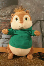 """Theodore Build a Bear Alvin and the Chipmunks w/ Green Hoodie Plush 9"""" 10/09 BAB"""
