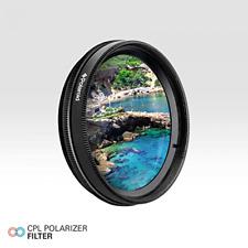 Circular Polarizer Filter CPL 49mm for Canon Eos Digital Rebel 50mm 1.8 STM Lens