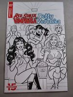 Red Sonja Vampirella Meet Betty Veronica #7 1:10 Parent B&W NM