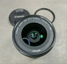 Canon EOS EF-S 10-18mm f/4.5-5.6 IS STM Wide-Angle Zoom Lens - plus Filter