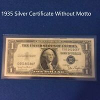 1935  $1 DOLLAR BILL SILVER CERTIFICATE BLUE SEAL NOTE (Fine)