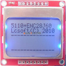 DIY Blue / White 84 * 48 Nokia 5110 LCD Display Screen Module Module for Arduino