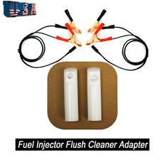 DIY Kit Universal Car Vehicles Fuel Injector Flush Cleaner Washing Adapter Tool