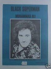 Johnny Wakelin Original Sheet Music Muhammed Ali