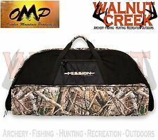 """OMP Mission by Mathews 41"""" Black and LOST AT Camo Soft Bow Case 60889"""