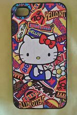 USA Seller Apple iPhone 4 & 4S Anime Phone case  Cute Hello Kitty