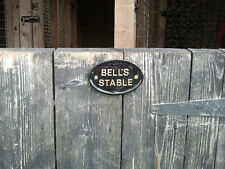 personalised stables horse name
