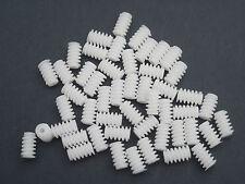 6 MM DIAMETER 10 MM LENGTH PLASTIC WORM GEARS X 50