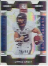 james casey rookie rc insert elite aspirations texans rice owls college /88
