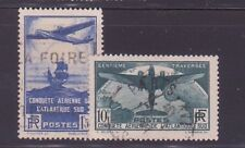 "FRANCE N°320/21 "" ATLANTIQUE-SUD "" OBLITERES TTB"