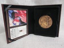 Mark McGwire St louis Cardinals Highland Mint Bronze Magnum L/E Coin 0040/3000