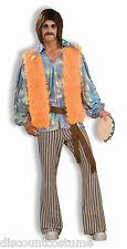 FORUM 60's SINGER ADULT MOD HIPPIE MEN'S HALLOWEEN COSTUME STANDARD 63090