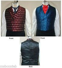 Mens Victorian 1830-1860 Dbl-Breasted Vest 34-56 Laughing Moon Sewing Pattern #5