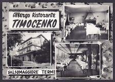 PARMA SALSOMAGGIORE TERME 195 ALBERGO RISTORANTE TIMOCENKO Cartolina FOTOGRAFICA