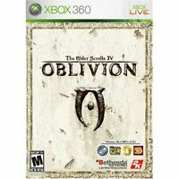 Elder Scrolls IV Oblivion For Xbox 360 Very Good 1E