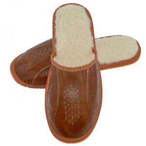 Men's slippers for home use + GIFT  (angora socks)