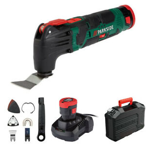 Parkside 12V Cordless Multi-Purpose Tool - with Battery and Charger. Brand New