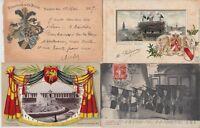 FLAGS HERALDIC  51  Vintage Postcards Mostly pre-1940