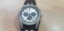 Genuine Men's Fossil Coachman Chronograph Brown Leather Watch