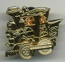 DISNEY 50TH GOLDEN VEHICLE CHIP N' DALE CASEY JR. TRAIN RIDE PIN NEW ON CARD
