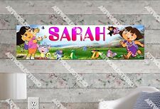 Personalized/Customized Dora #2 Name Poster Wall Art Decoration Banner