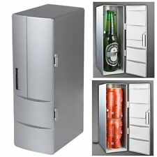 USB Fridge Mini USB-Powered Beverage Drink Cans Cooler/Warmer Refrigerator