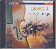 """Denon Hi-Fi Strings"" Master Music Classical Audiophile CD Brand New Sealed"