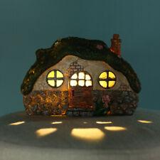 LED Solar Fairy House Light Outdoor Garden Lawn Light Control Decor Lamp Gift
