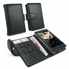 TUFF LUV Faux Leather Case Cover for FiiO X5 iii 3rd Gen - Black