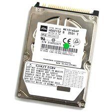 "Toshiba MK1016GAP 10GB 2.5"" IDE Hard Drive - 100% Verified"
