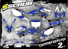 SCRUB Yamaha graphics decals kit WRF 450 2016-2017  '16-'17 stickers WR450f