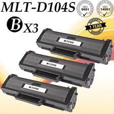 3PK MLT-D104S Toner For SAMSUNG ML-1660 ML-1661 ML-1665 ML-1670 ML-1675 ML-1865W