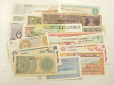 World Banknotes  Lot of 25 Different Notes Mostly Uncirculated  #3082