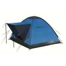 High Peak Beaver 3 Personen Mann Zelt mit Windschutzblende Moskitonetz 180x200 2