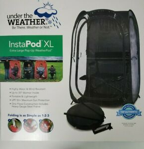 Under the Weather InstaPod Stay Warm & Dry Weather Pod, BLK, XL Light & Durable