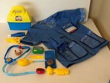 Melissa and Doug Lets Pretend Doctor Veterinarian and Fisher Price Doctor Set