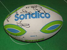 England 2013 Rugby League World Cup Squad Signed Ball - Eighteen Autographs!