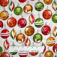 Keep Christmas in Your Heart Santas Fabric by the 1//2 Yard  #76202