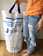 Air France Airline Eco-Friendly Reusable Extra Large Shopping Storage Bucket Bag