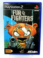 PS2 FUR FIGHTERS VIGGO'S REVENGE AKKLAIM Jeu Playstation 2 vintage retrogaming