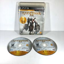 God of War Saga Collection Sony PlayStation 3 PS3 GAME  Tested C9