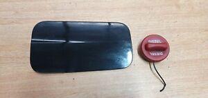 MERCEDES E CLASS W212 13-16 FUEL FILLER FLAP COVER DOOR & CAP OBSIDIAN BLACK 197