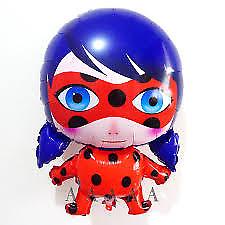 "MIRACULOUS LADYBUG  21"" Shaped red Balloon"