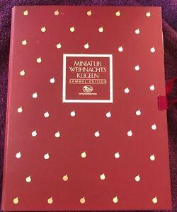 Hutschenreuther 12 Miniatur Weihnachtskugeln Sammel-Edition Limitiert Ole Winthe