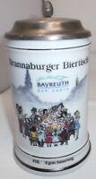 Jubiläumskrug mit Zinndeckel 800 Jahre Bayreuth - limitierte Auflage Nr.618.