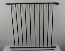 BABY-DAN FLEX Verlängerung 72 cm Schutzgitter, schwarz, Section Large  *NEU*