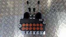 6 spool hydraulic directional control valve 11gpm 6P40 + 2 joysticks SAE ports