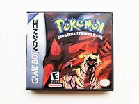 Pokemon Giratina Game / Case - Game Boy Advance GBA - Fan Made (USA Seller)