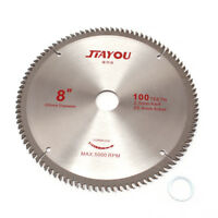 Saw Blade For Cutting Wood Aluminum 8 Inch 80 T