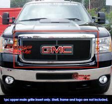 Fits GMC Sierra 2500HD/3500HD Black Stainless Steel Mesh Grille Grill 2011-2014